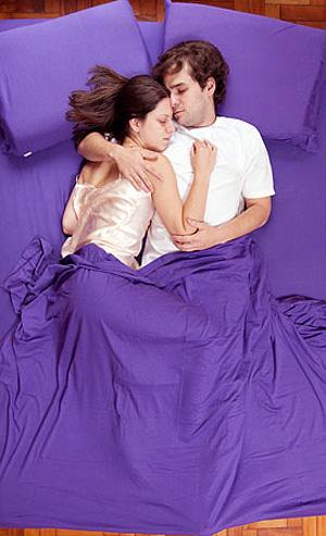 Posição para casal dormir: Berço